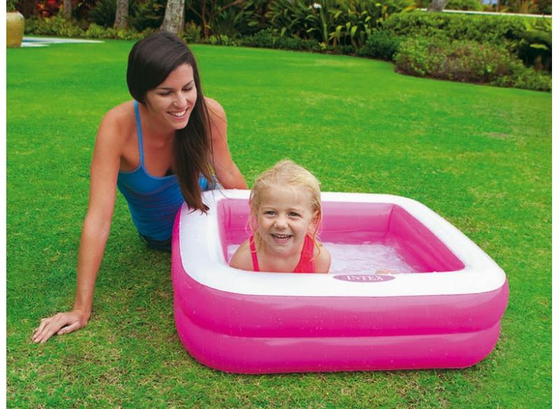157100 Детский надувной бассейн Play Box Pool