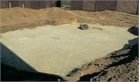 2210 Подготовка площадки-подушки из песка для бассейнов до 5 метров