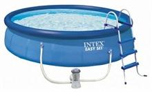 26168 Надувной бассейн Intex, 457х122см, фильтр-насос картр 3785 л/ч