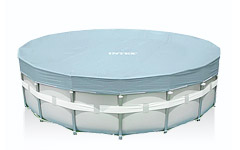28041 Тент для каркасных бассейнов Intex 549см