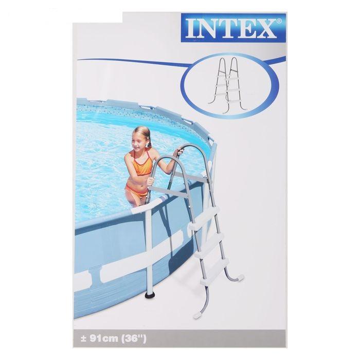 28056 Лестница для бассейна Intex, высота 91 см