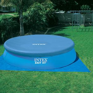 28166 Надувной бассейн  Intex, 457х107см, фильтр-насос картр 3785 л/ч