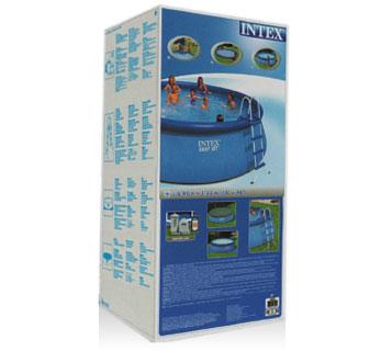 28168 Надувной бассейн  Intex, 457х122см, фильтр-насос картр 3785 л/ч (28166)