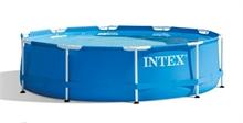 28212 Каркасный бассейн круглый  Intex, 366х76см, фильтр-насос картр 2006 л/ч