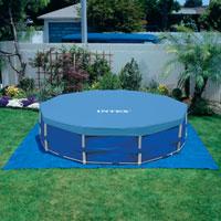 28234 Каркасный бассейн круглый  Intex, 457х107см, фильтр-насос картр 3785 л/ч