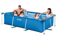 28270 Каркасный бассейн прямоугольный Intex, 220х150х60см