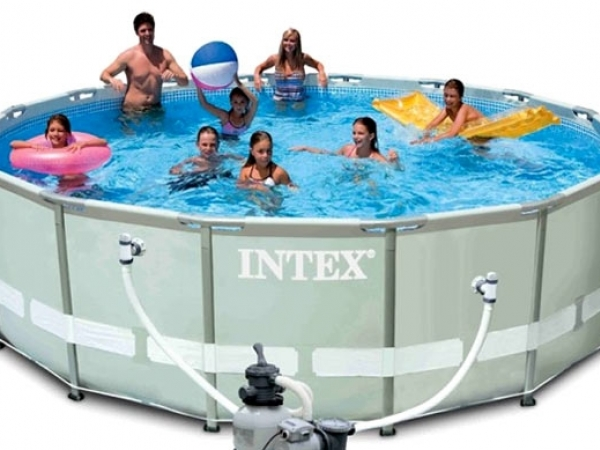 28312 Каркасный бассейн Ultra Frame Pool Intex 427х122