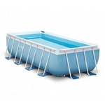 28316 Каркасный бассейн прямоугольный Intex, 400х200х100см, фильтр-насос картр 2006 л/ч