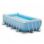 28318 Каркасный бассейн прямоугольный Intex, 488х244х107см, фильтр-насос картр 3785 л/ч