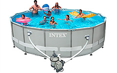 28324  ��������� ������� Ultra Frame Pool Intex 488�122��