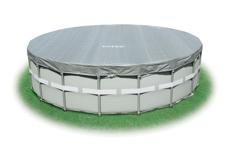 28328 Каркасный бассейн круглый  Intex, 488х122см, хлоратор+фильтр-насос картр 4542 л/ч (28382)