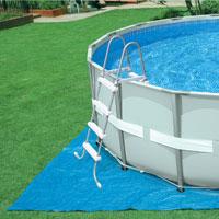 28332 Каркасный бассейн Ultra Frame Pool Intex 549х132см (скорость потока воды в насосе-7,9м3/ч)