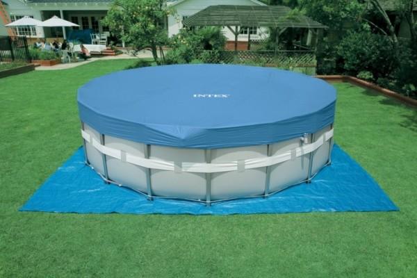 28336 Каркасный бассейн 28336 Intex 549 х 132 с полным комплектом +хлоргенератор