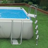 28372 Каркасный бассейн прямоугольный Intex, 975х488х132см, фильтр-насос песчанный 10500 л/ч