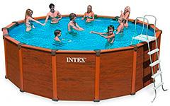 28394 Бассейн каркасный Intex Sequoia Spirit 569х135 см полный комплект