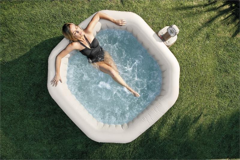 Надувной СПА бассейн INTEX PureSpa Bubble Therapy, арт. 28414