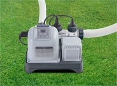 28668 Хлорогенератор  для бассейнов, Intex обьемом до 26,5 м3 , производительность (5 г/ч хлора)