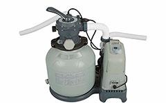 28678 Песочный фильтрующий насос  с Хлоргенератором Intex 6000л/ч