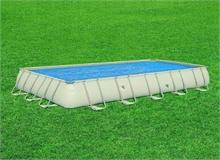 29030 Обогревающее покрывало Intex Solar Cover для бассейнов 975х488см