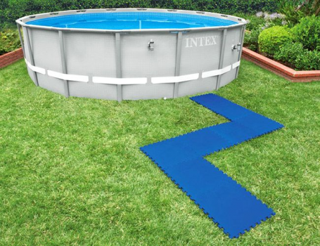 29081 Защитный коврик-пазл под бассейны Intex, 50х50 см, 8 шт