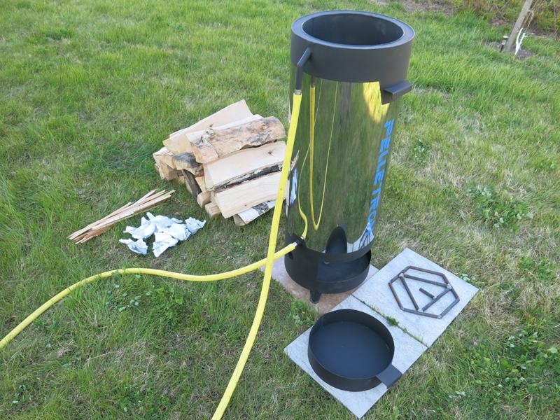 D20 Дровяной нагреватель ПЕЛЛЕТРОН Тепловая мощность 15-20 кВт