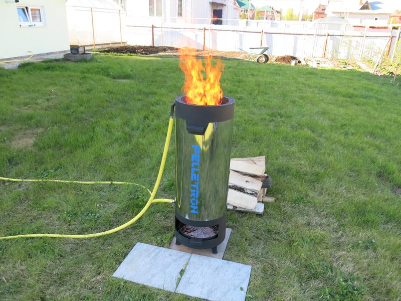 D40 Дровяной нагреватель ПЕЛЛЕТРОН Тепловая мощность 30-40 кВт