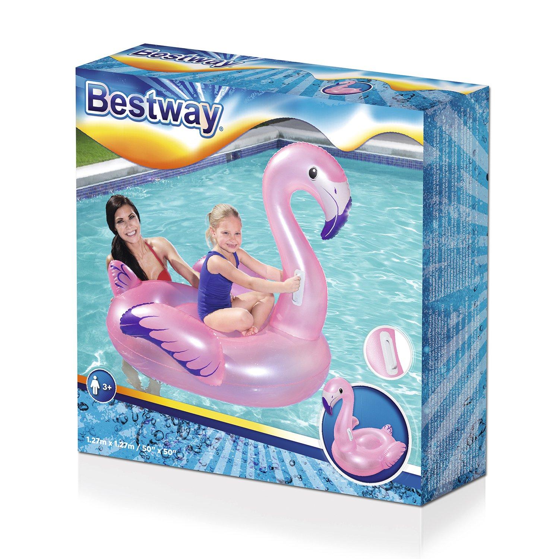 41122 Игрушка для катания Фламинго 127х127 см