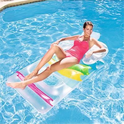 43011 Надувной шезлонг для отдыха на воде 165х89 см, Bestway