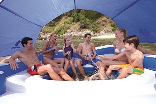 43105 Надувная беседка для отдыха на воде(6 человек) BestWay 389х274 см