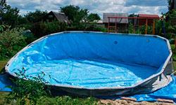 Сборка каркасных бассейнов от 5м