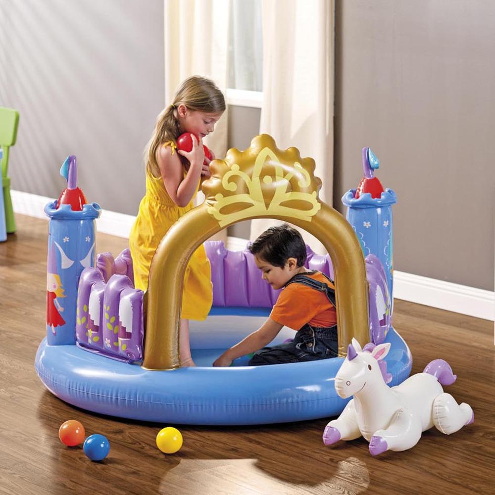 48669 Intex Игровой центр Замок принцессы 130х91см