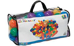 49600 Шарики-мячики для бассейна (100 шт. в сумке) Intex 49600