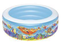 51121 Детский круглый бассейн Bestway Подводный мир, 152х51 см, 400 л