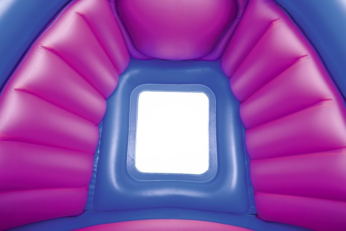 52218 Бассейн надувной Bestway Гиппопотам 112х99х97см, с навесом , от 2 лет