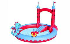 53037 Игровой бассейн Замок Bestway 221х193х150 см