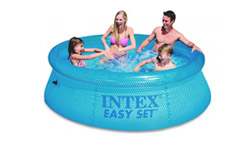 54910 Бассейн надувной Intex Clearview 244x76cm