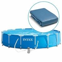Запасной чашковый пакет к бассейну Intex 549х122см