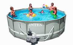 54924 ��������� ������� Ultra Frame Pool Intex 488�122��