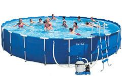 54948 Бассейн каркасный арт. 54948 Intex Family Size Metal Frame Pool Set 732х132см