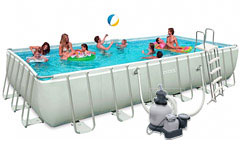 54984 ������� ��������� ULTRA FRAME POOL INTEX 54984 732�366�132��