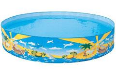 55022 Детский надувной бассейн Bestway Счастливые рыбки