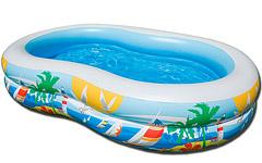 56490 надувной бассейн Intex детский Райская лагуна