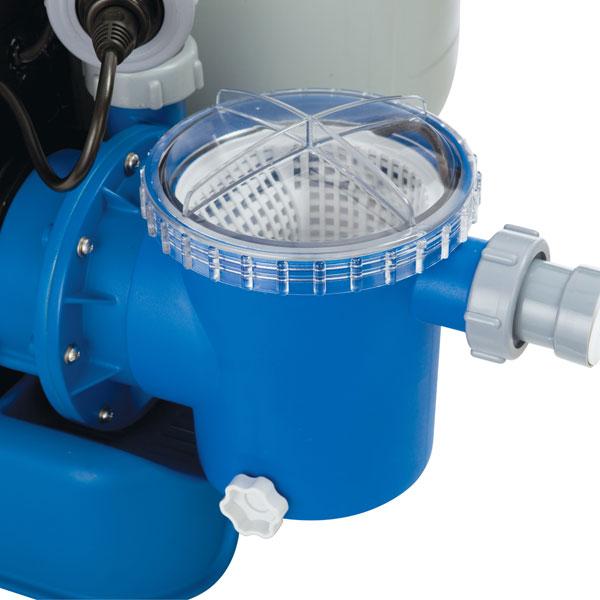 56674 Песочный фильтрующий насос INTEX 56674 8 куб. метров в час