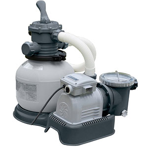 56686 Песочный фильтр-насос 6000 л/ч Intex