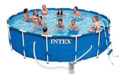 56949 Каркасный бассейн 457х107 с полным комплектом Intex 56949