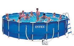 56952 Каркасный бассейн 549х122 с полным комплектом Intex 56952