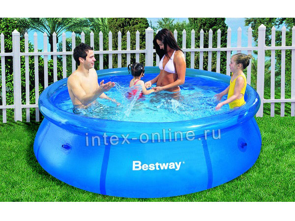 инструкция по установке надувного бассейна Bestway - фото 3