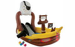 57133 Игровой центр Intex Пиратский корабль 292х218х196см