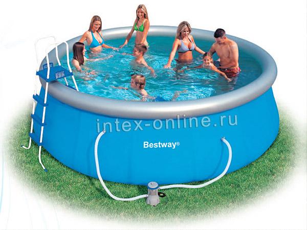 инструкция по установке надувного бассейна Bestway - фото 6
