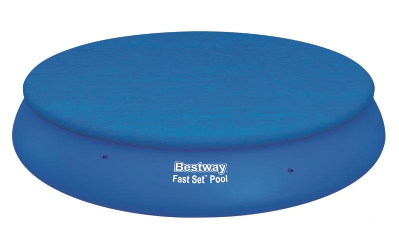 57316 Надувной бассейн  BestWay, 457х84см, фильтр-насос картр 2006 л/ч (58180)